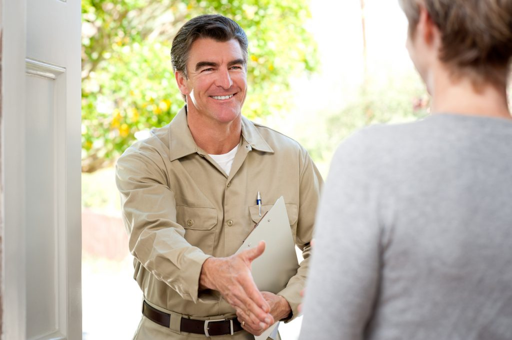 Repairman In Uniform